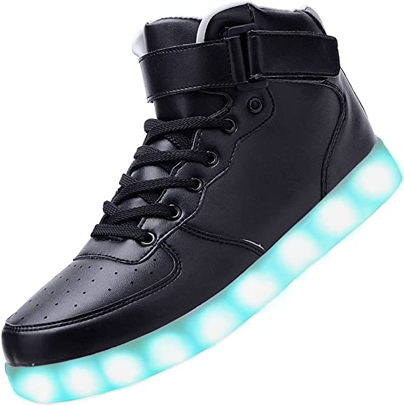 LES TRICOT High Top Led Light Up Shoes
