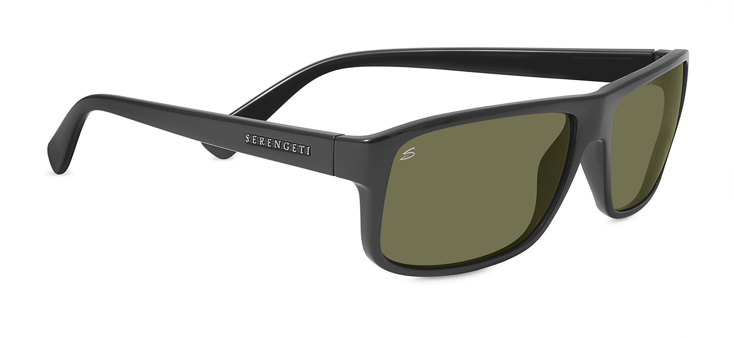 Serengeti 8087 Claudio, Satin Dark Gray Frame, Polarized Sedona Lens