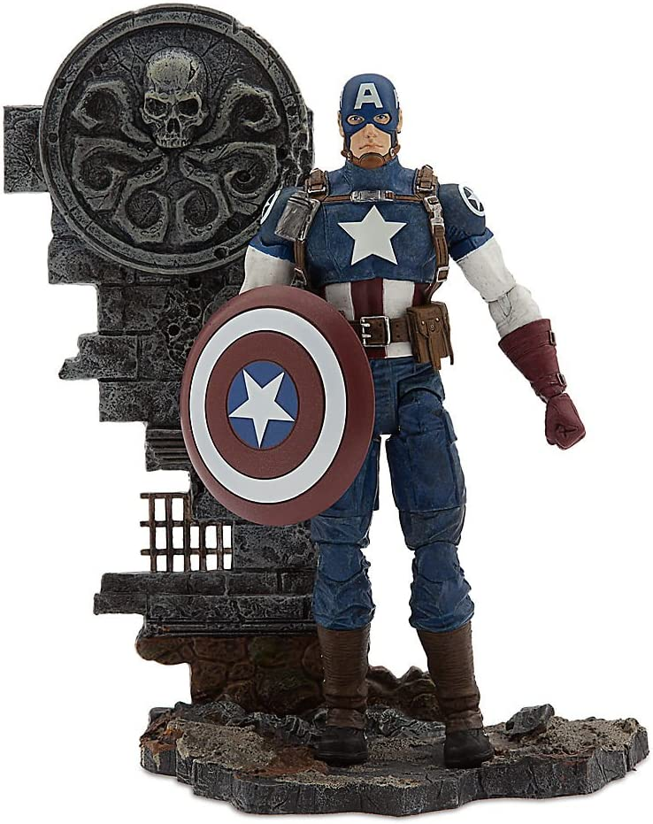 Marvel Select 7 Inch Marvel Captain America Action Figure