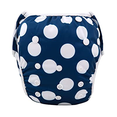 ALVABABY Swim Diapers,Ttoddler Swim Diaper,Swimming Diapers for Babies