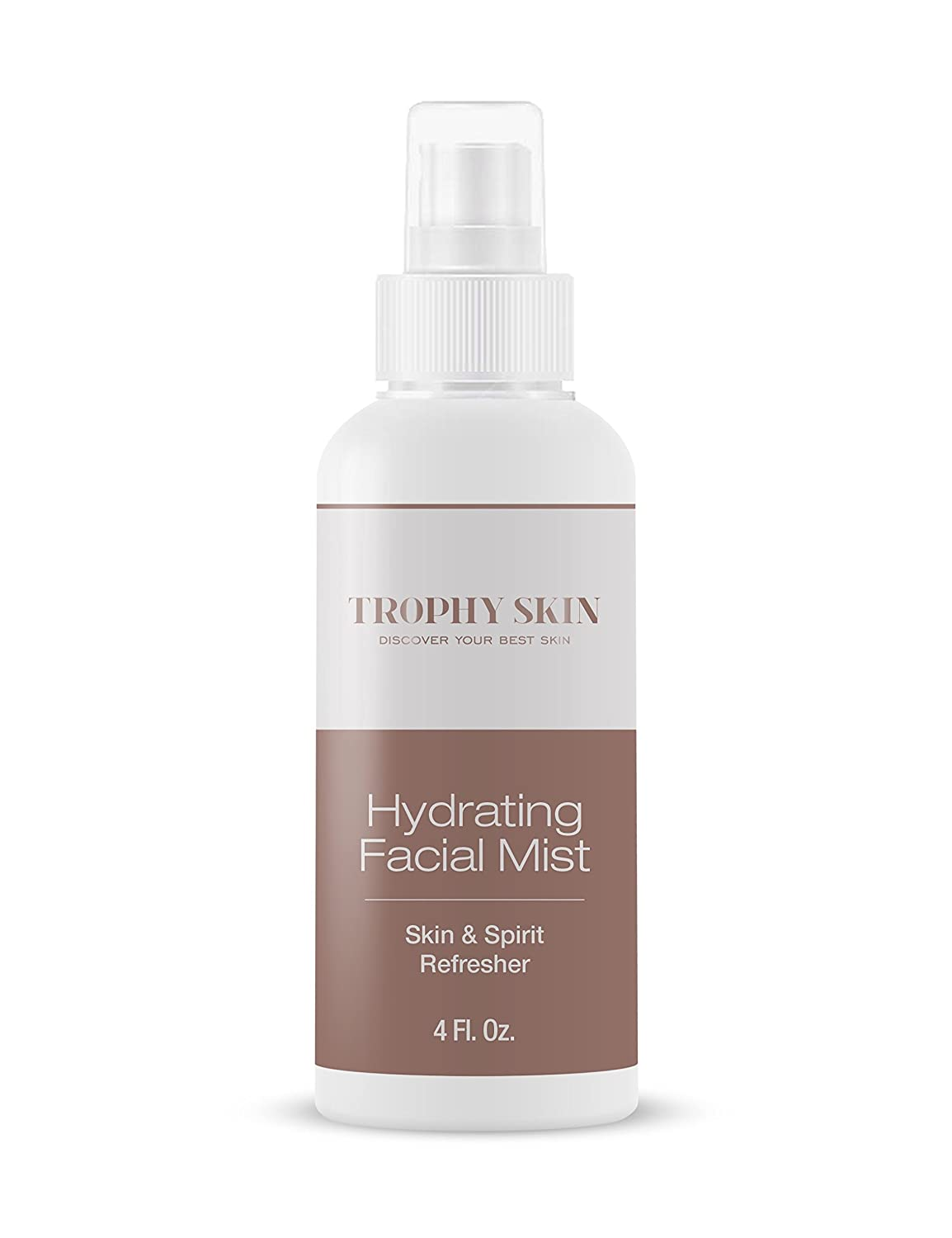 Facial Hydrating Mist by Trophy Skin. Prepares Skin to Increase the Absorption of Serums and Moisturizers.