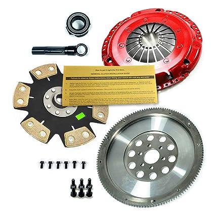 Amazon.com: EFT RIGID CLUTCH KIT + CHROMOLY FLYWHEEL VW GOLF TDI JETTA TDI 1.9L SOHC TURBO: Automotive