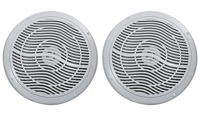 Pair Rockville RMSTS80W 8 1000w Waterproof Marine Boat Speakers 2-Way White