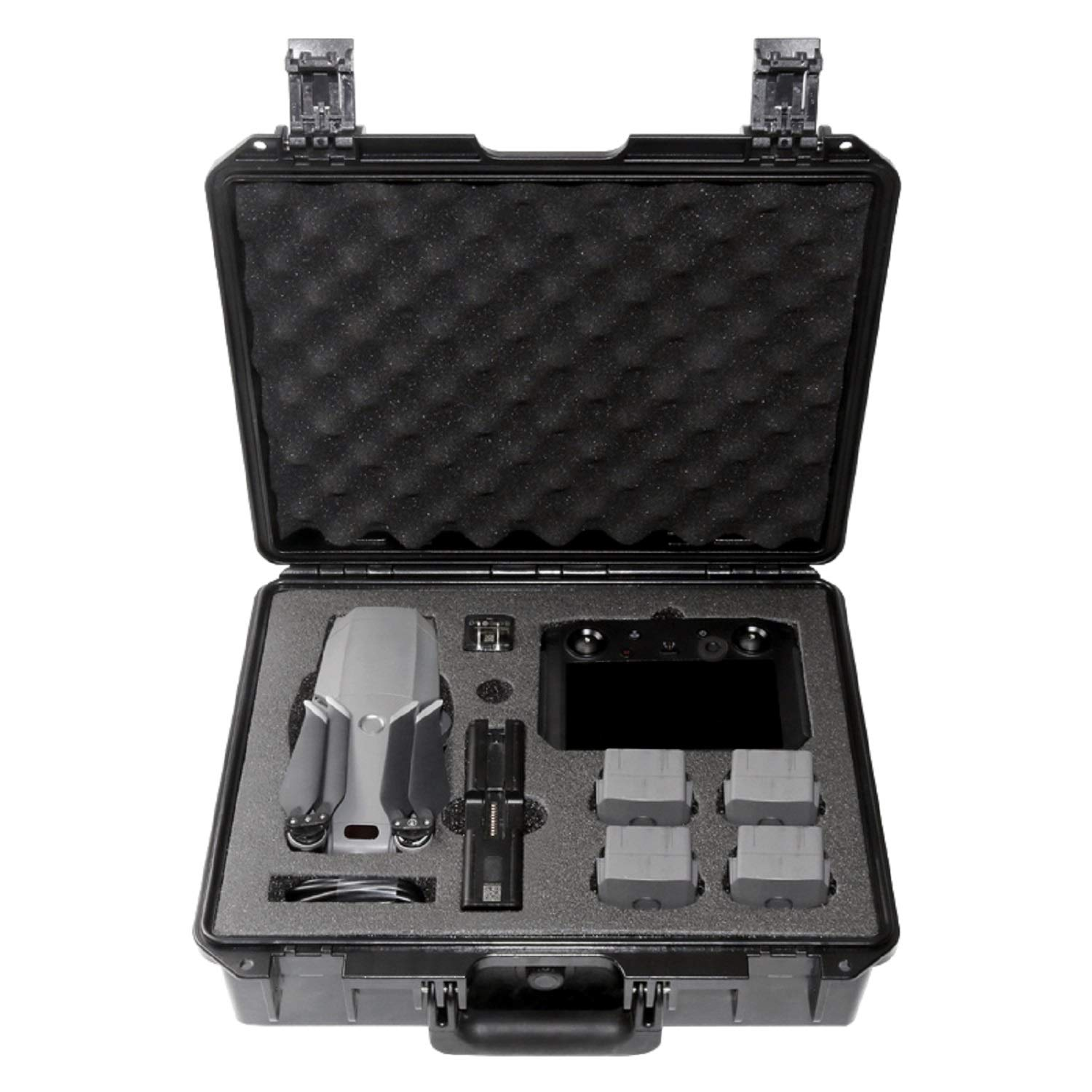 Koozam DJI Mavic 2 Waterproof Hard Case, with Smart Controller, for Mavic 2 Pro and Zoom Drones, Waterproof and Shockproof