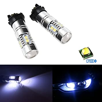 2 x 35 W CANBUS PWY24 W LED bombillas para audi vw frontal Intermitente Luces,
