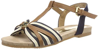 TOM TAILOR Damen 4892205 T Spangen Sandalen