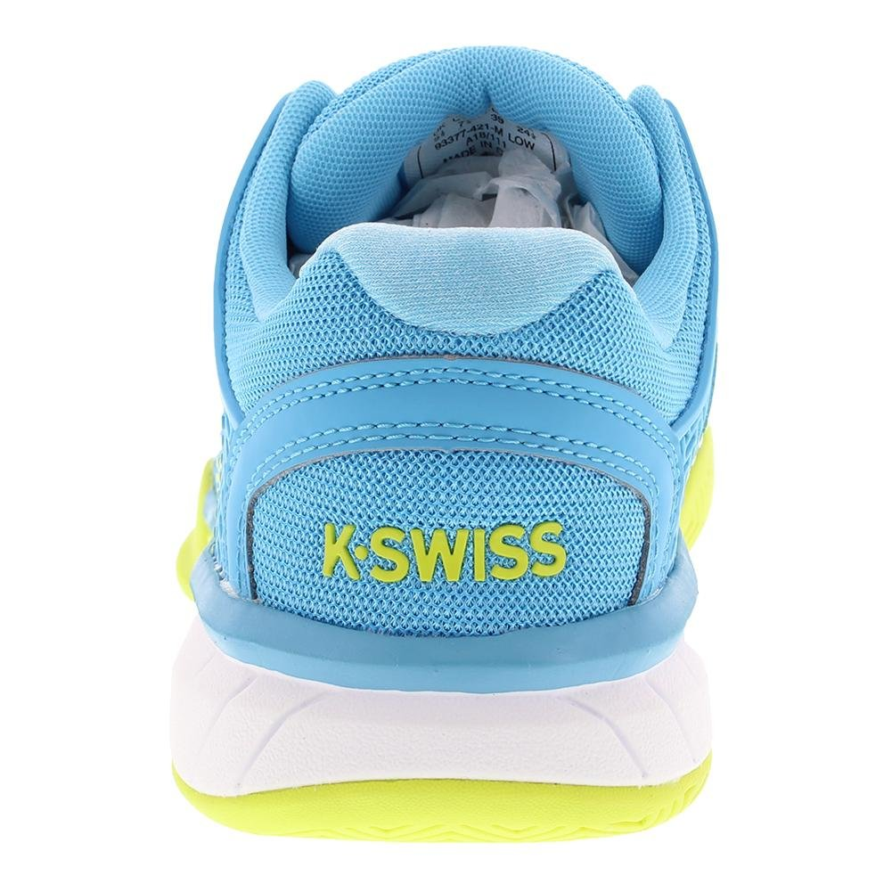 K-Swiss Women's Hypercourt Express US|Aquarius/White/Neon Tennis Shoe B07BR7HVLD 5.5 B(M) US|Aquarius/White/Neon Express Citron 1a6c0a
