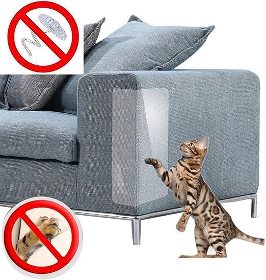 TOOGOO Protector de Muebles para Protección contra Ara?azos de Gatos, Ara?azos, Repelente, Protector de Sofá para Juego de Mesa de Sofá Fundas Almohadillas: Amazon.es: Productos para mascotas