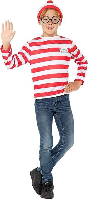 Smiffys 41515M Producto oficial de ¿Dónde está Wally? Kit ...