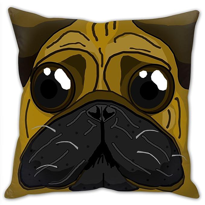 Amazon.com: Abrazo un perro cojín – 50 cm x 50 cm: Jardín y ...