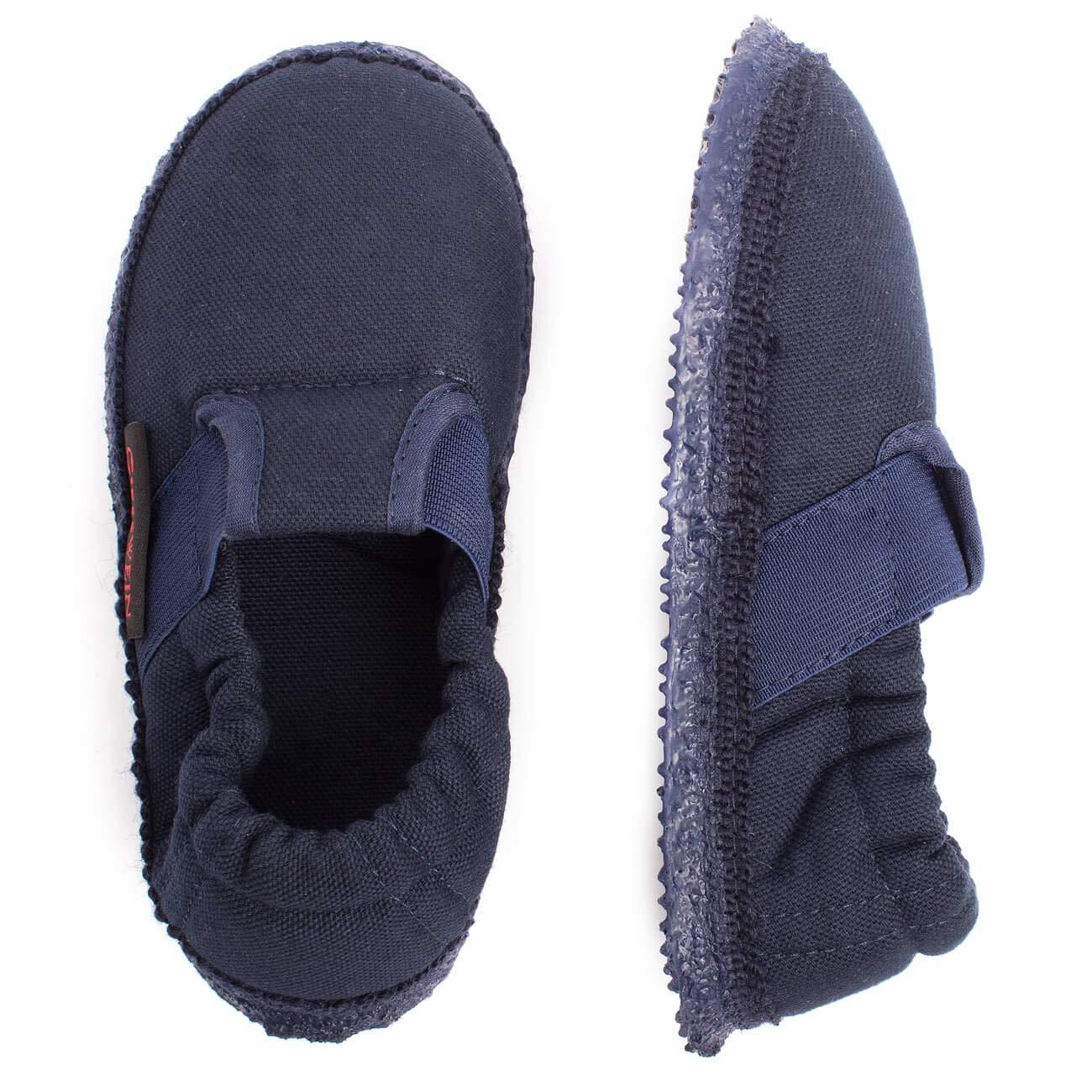 Giesswein Walkwaren AG Aichach Blu Ocean 588 37 EU Pantofole a Collo Basso Unisex-Bambini
