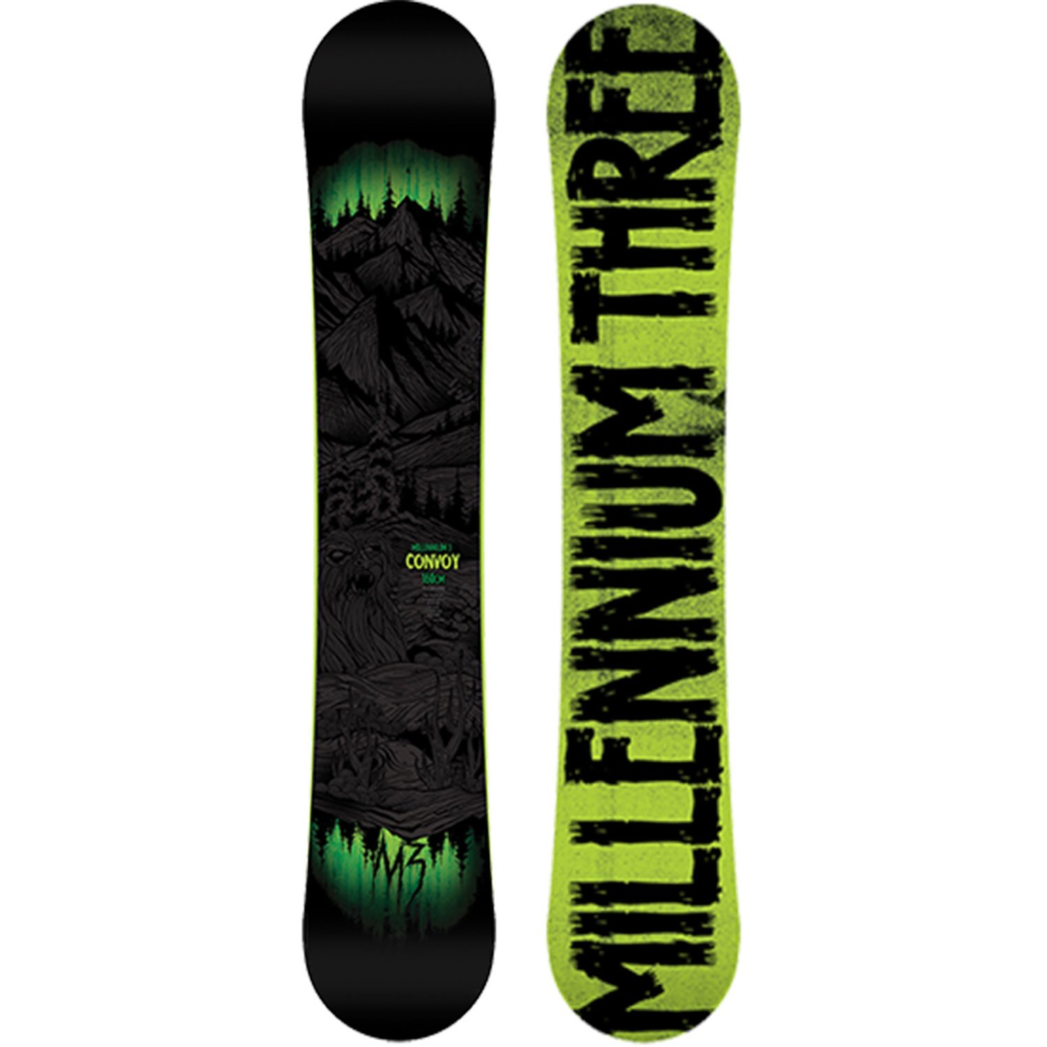 M3 Convoy (14) Snowboard by M3