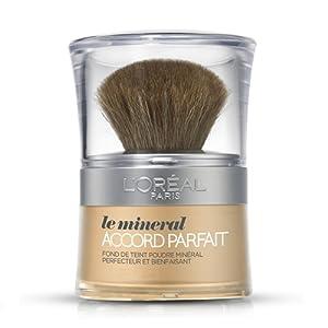 L'Oréal Paris Accord Parfait Minéral Fond de Teint Poudre 1D Ivoire Doré