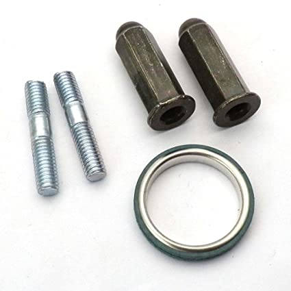 Scooter Exhaust Nuts+Stubs for Gy6 Moped 50cc 139qmb 150cc 157qmi scooter motor