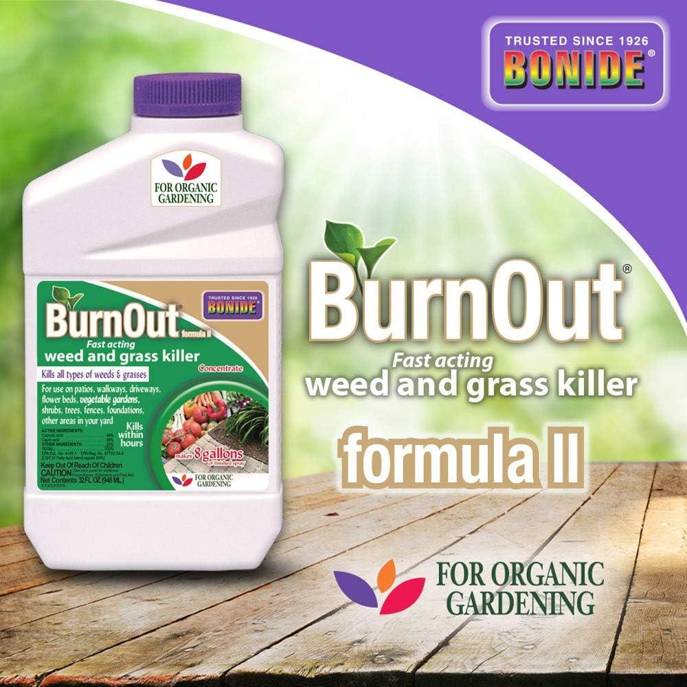 Bonide 7468 Burnout Weed Killer, White