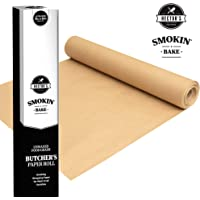 Hectors Providores Smokin' Bake Butchers Paper for Smoking | Food Grade Fish and Meat Paper Wrap | for Smoker, BBQ Grill, Oven and Microwave | Unbleached and Unwaxed Cooking Paper | Gourmet Foodies