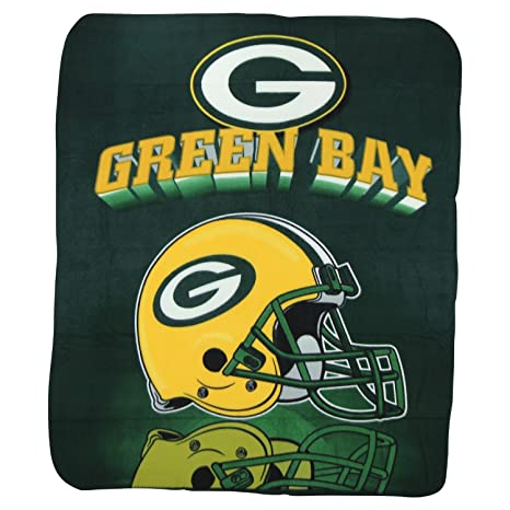 Amazon Green Bay Packers Fleece Blanket 40 X 40 Inches By Classy Green Bay Packers Throw Blanket