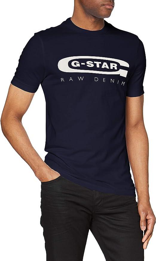 TALLA S. G-STAR RAW Graphic 4 Slim Camiseta para Hombre
