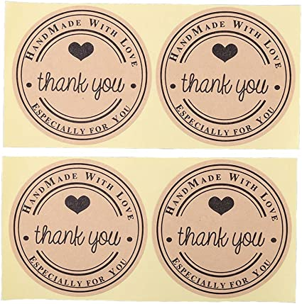 CUTE NURSE IN A RED HAT LASER PRINTED THANK YOU STICKER LABELS