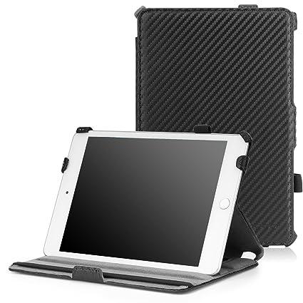 Amazon.com: MoKo Slim Fit – Funda para iPad Mini 4), Carbon ...
