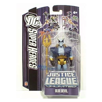 Justice League Unlimited Blue Devil Action Figure: Toys & Games