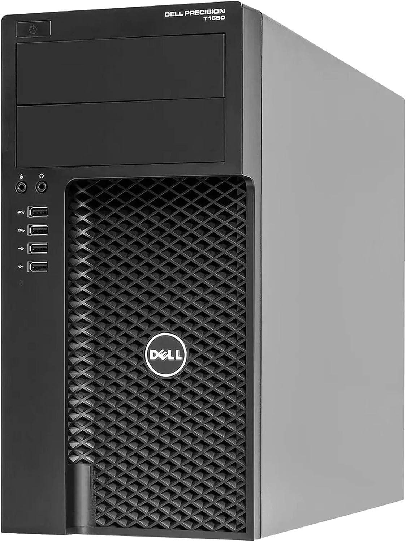 Dell Precision T1650 Workstation Tower Desktop Computer - Intel Core i5 3rd Gen, 16GB RAM, 512GB SSD, New Keyboard, Mouse, WiFi, Windows 10 Professional (Renewed)