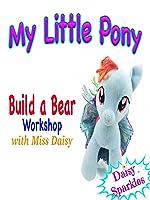 My Little Pony - Build a Bear with Rainbow Dash