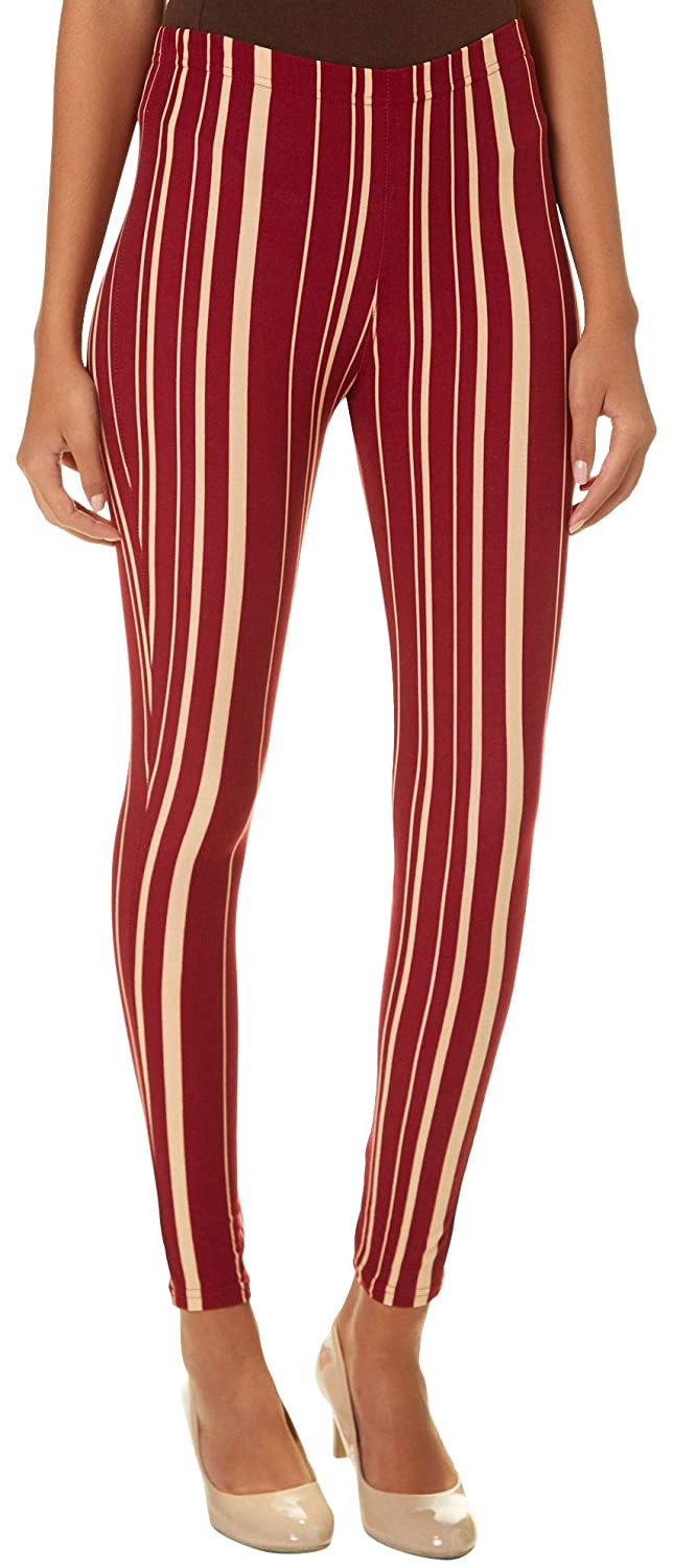 Hot Kiss Florida State Juniors Veritcal Striped Leggings P000529019