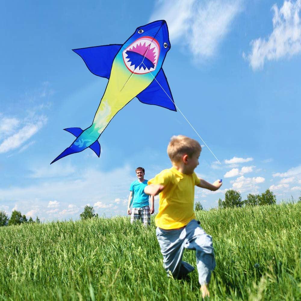 HONBO Cometa para ni/ños Shark