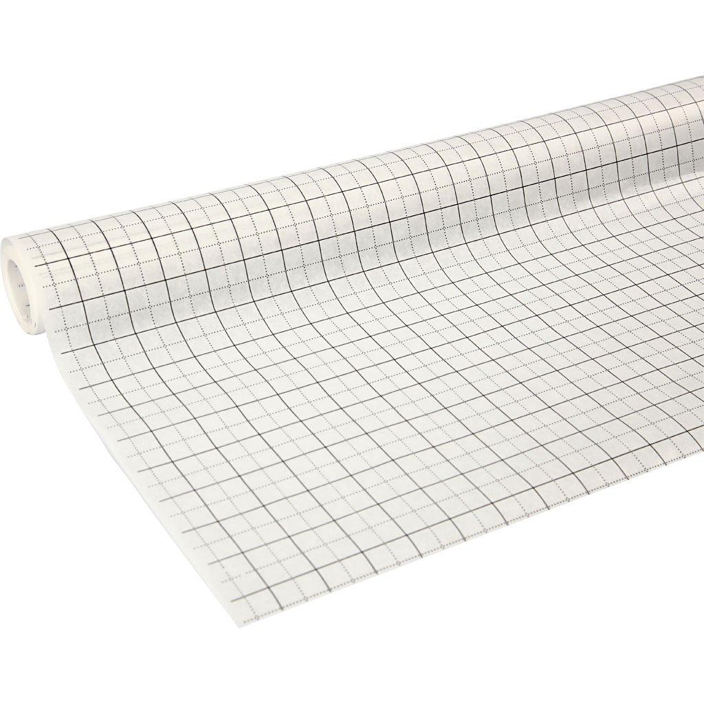 Creativ 20706 Dressmakers Squared Dress Pattern Paper for Women, W: 80 cm, 15m