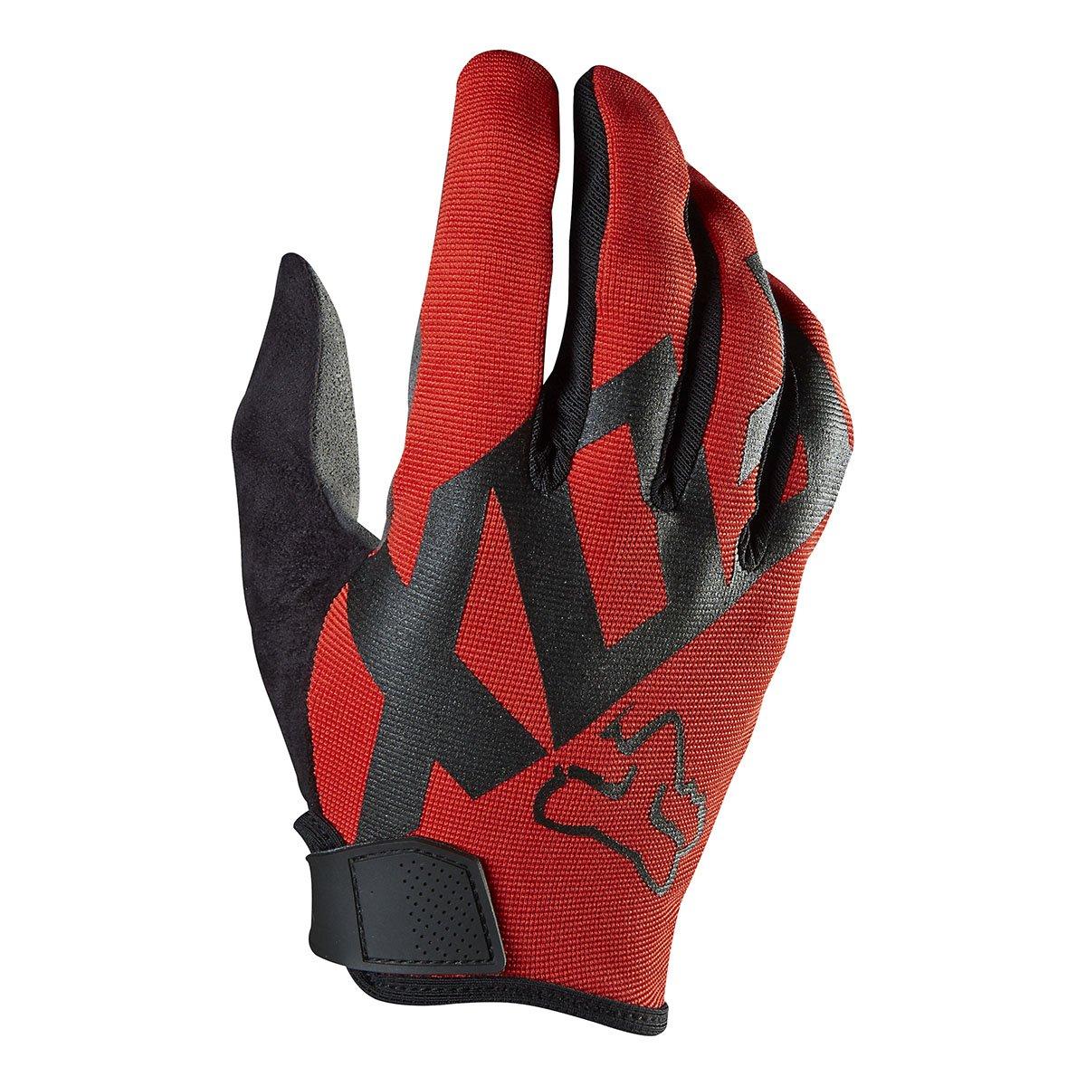 Fox Racing Ranger Mountain Bike Gloves, Red, Small