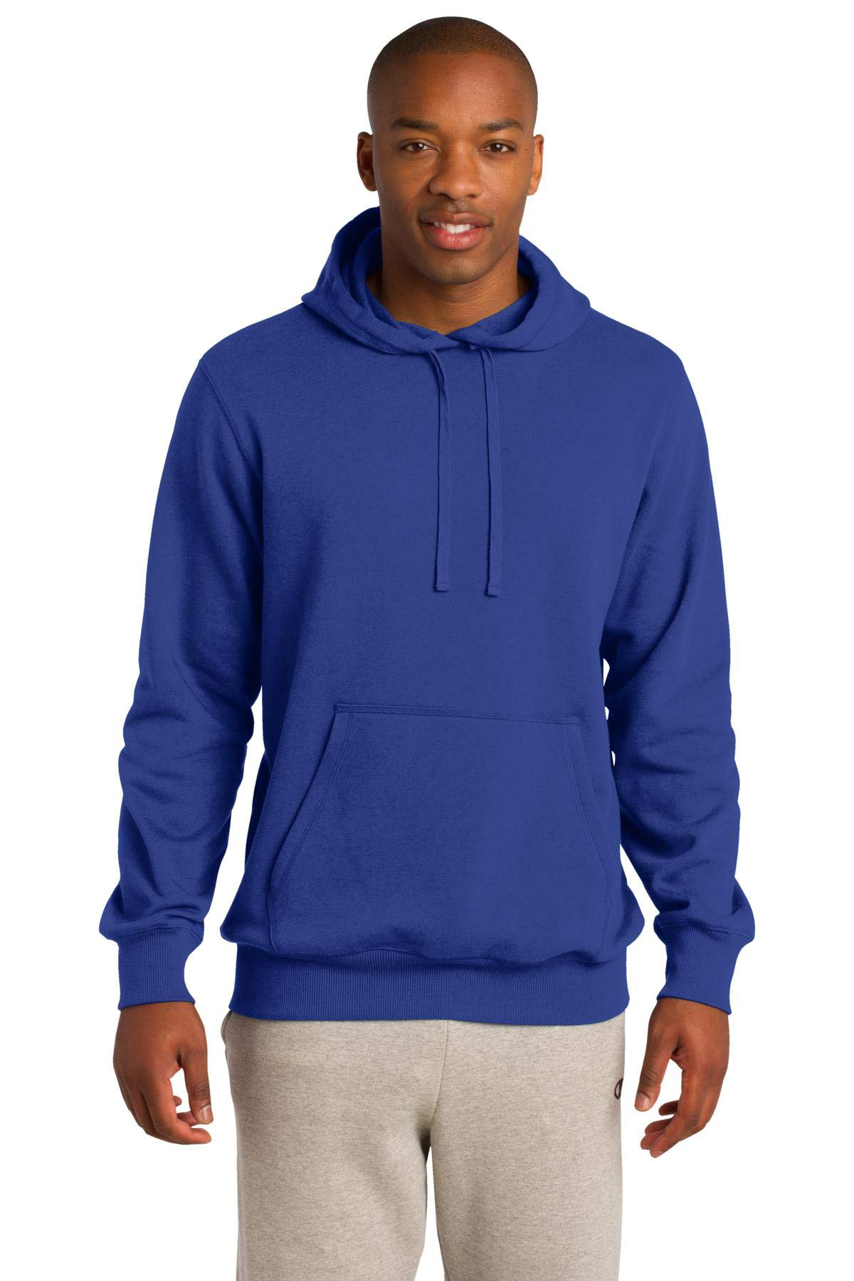 Sport-Tek Men's Tall Pullover Hooded Sweatshirt 2XLT True Royal by Sport-Tek