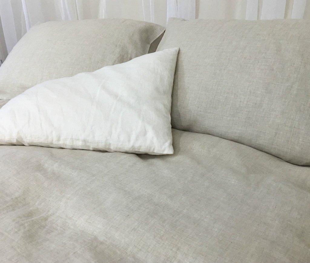 Natural Linen Duvet Cover, Natural Linen Bedding, Custom Bedding, Linen Bedding, Queen Duvet Cover, King Duvet Cover, Twin Duvet Cover, FREE SHIPPING