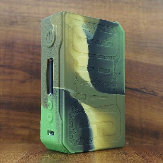 ModShield for VOOPOO Drag 157W TC Silicone Case ByJojo Sleeve Cover Wrap  Shield Skin (Camo)