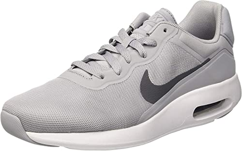 Nike air max Modern Essential Mens Running Trainers 844874 Sneakers Shoes (44.5 M EU, Wolf Grey Dark Grey White 002)