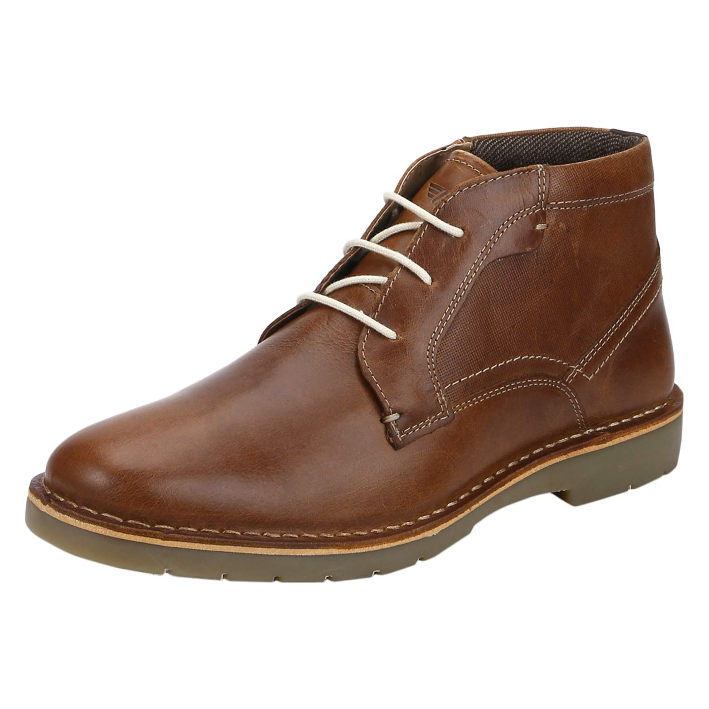 Red Tape Men's Tan Leather Footwear-7 UK (41 EU) (8 US) (RTE1533)