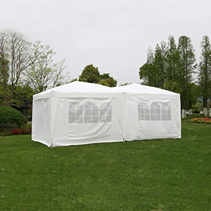 3m x 3m Gazebo Marquee Party Tent Waterproof Garden Patio Outdoor Awning Canopy