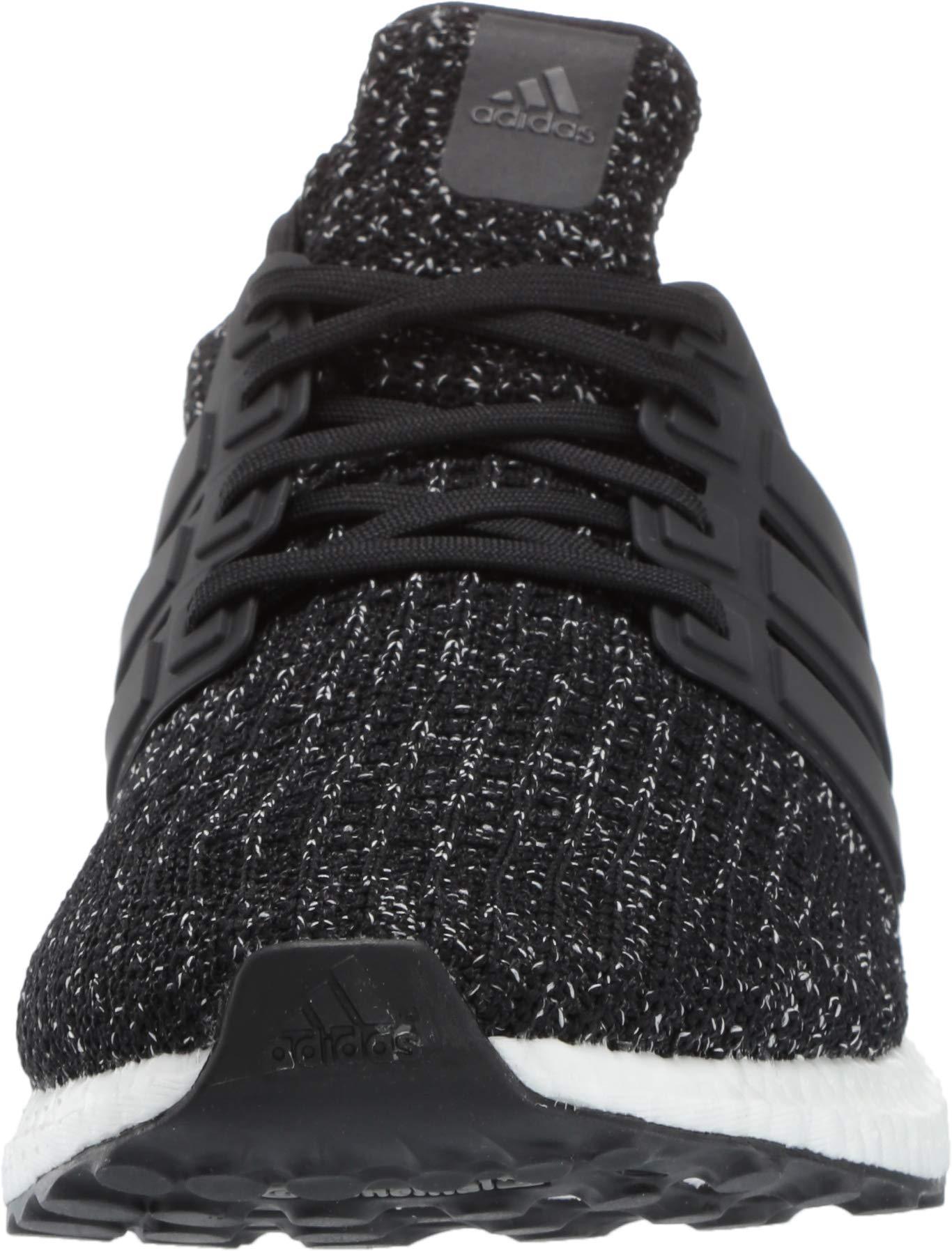 adidas Men's Ultraboost, Black/White, 9 M US by adidas (Image #4)