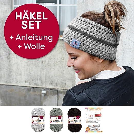 Myboshi Häkelset Für Stirnband Amami Inkl Wolle Häkelanleitung In