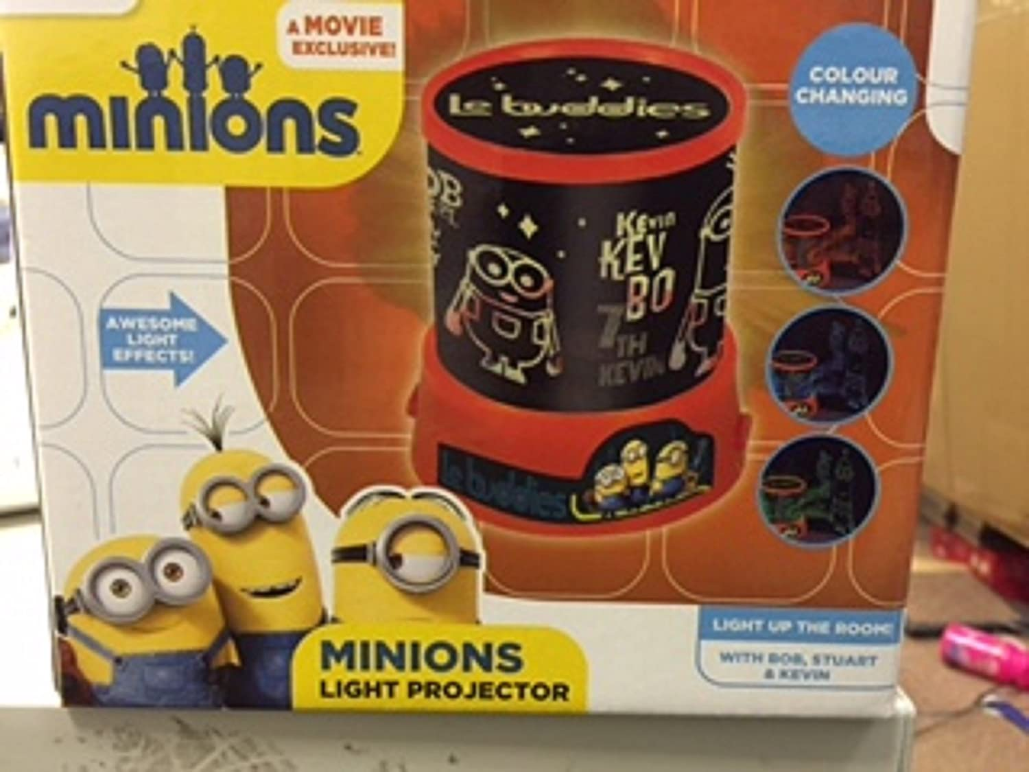 Despicable Me Minions Light Projector RMS