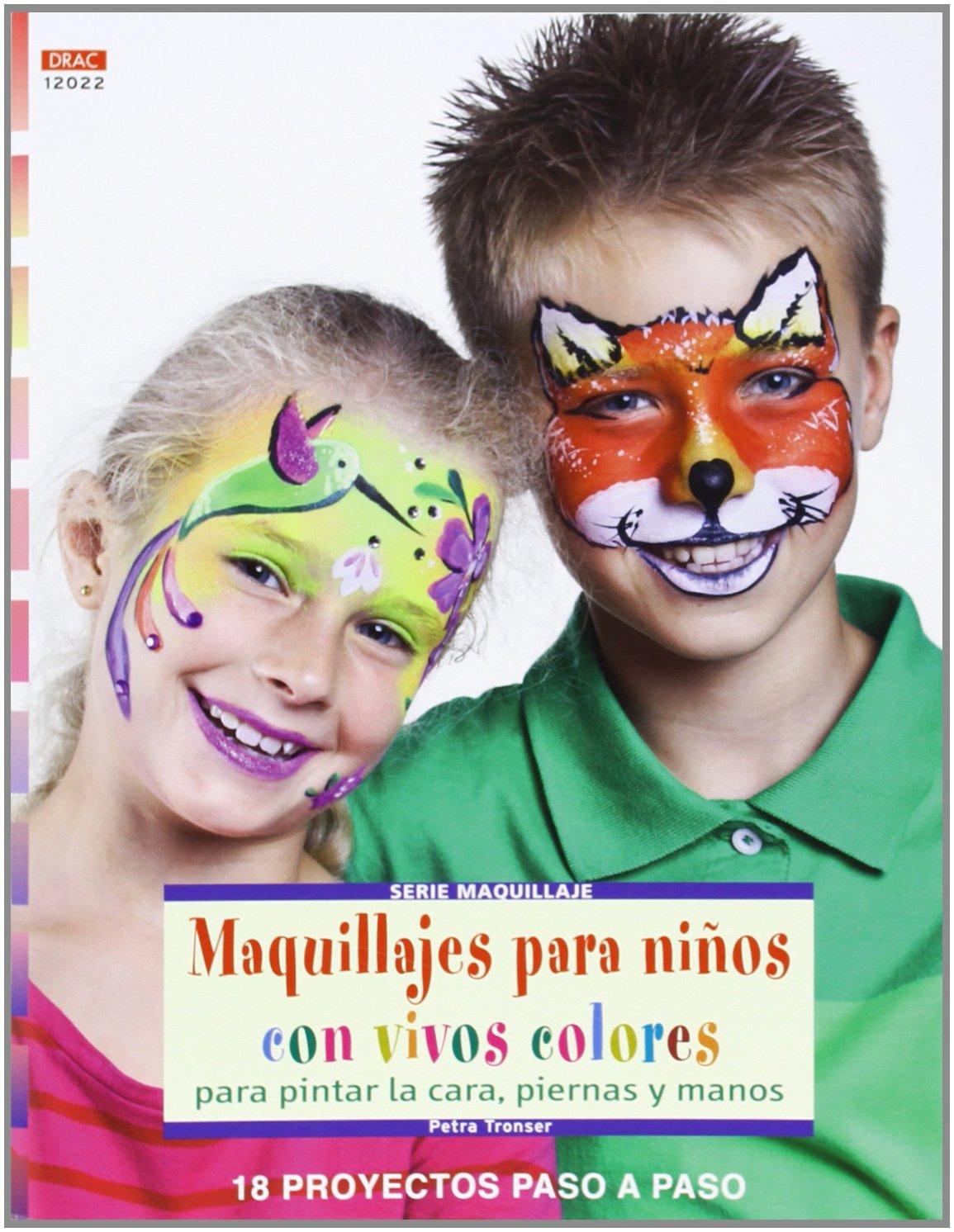 Maquillajes Para Ninos Con Vivos Colores Amazon Es Aa Vv Libros