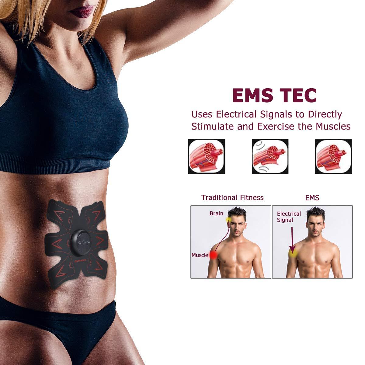 639fa8f9af4 HURRISE EMS Muscle Stimulator