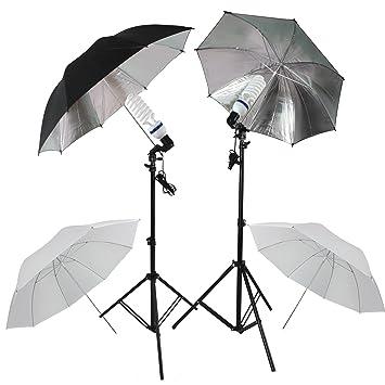fotolampe rpgtar ein paar set studioschirm mit weisse durchlichtschirme silberne reflektorschirm fotolampen led