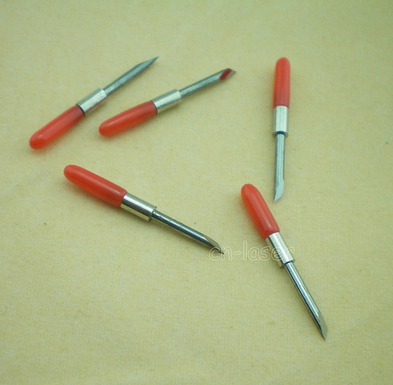 5pcs HQ cortador de cuchillas CB15 para Graphtec de corte plotter ...