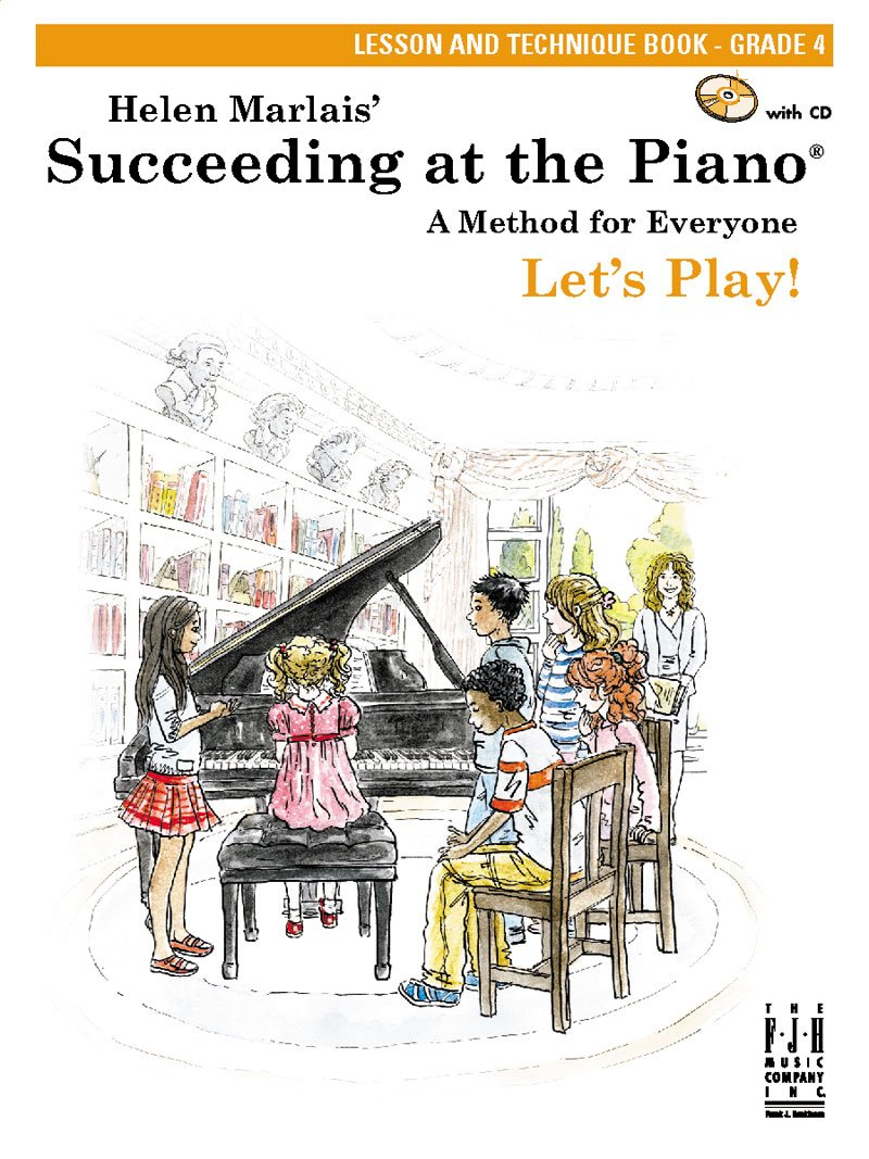 Succeeding At The Piano Grade 4 Lesson /& Technique Learn to Play Music Book /& CD