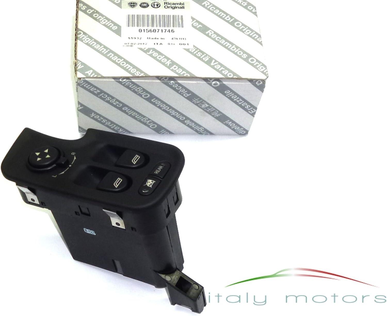 ALFA ROMEO 147 Originale Interruttore Alzacristalli Finestra anteriore sinistro 156071746 NUOVO
