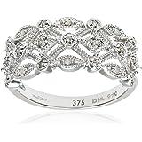 Naava 9ct White Gold Ladies Diamond Ring