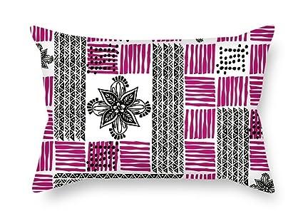 Amazoncom Sophia Emma Geometry Valentine Day Pillow Cases Best For