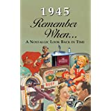 1945 REMEMBER WHEN CELEBRATION KARDLET: Birthdays, Anniversaries, Reunions, Homecomings, Client & Corporate Gifts