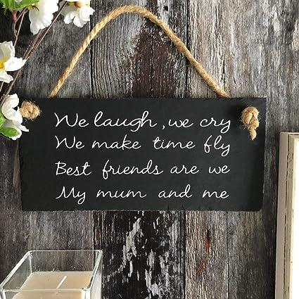 Yilooom Regalo para mamá. Frase de mamá. Señal para mamá ...